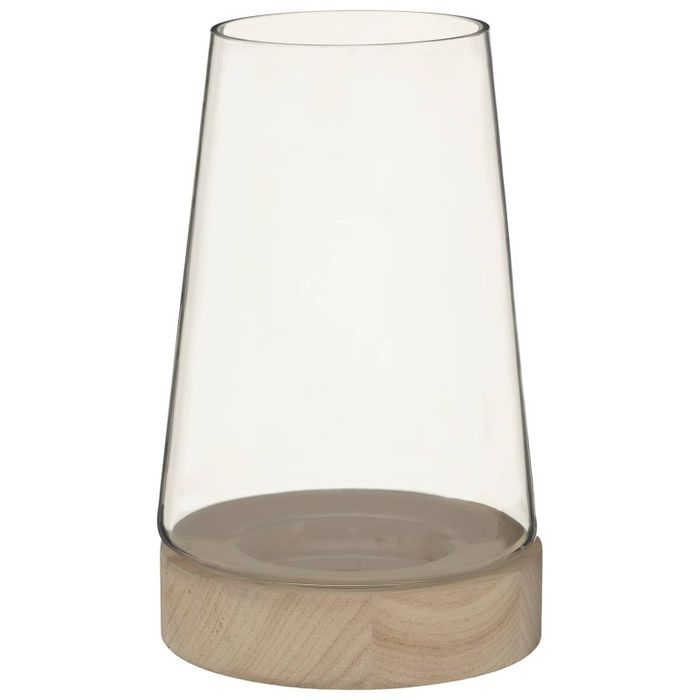 Cheap Glass Hurricane Candle Holder - Only £7!