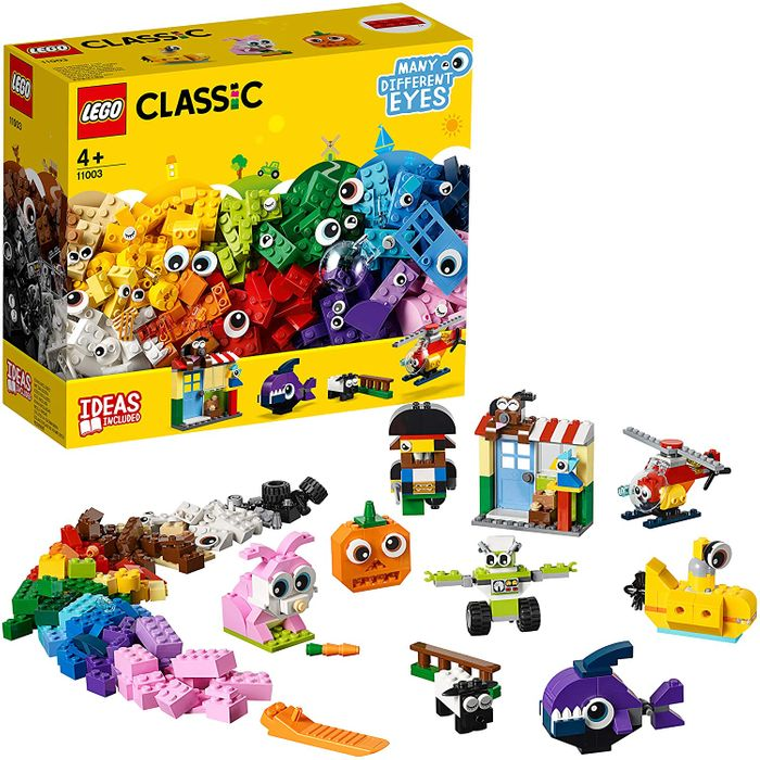 LEGO CLASSIC: Bricks and Eyes (451 Pieces!)