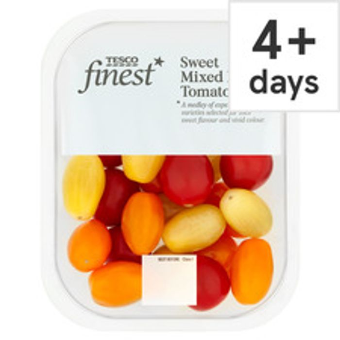Tesco Finest Mixed Baby Tomatoes 250G