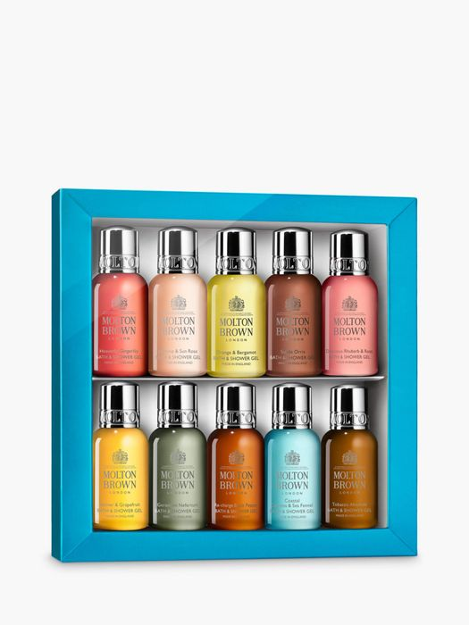 Molton Brown Bathing Discovery Collection Bodycare Gift Set, 10 X 30ml
