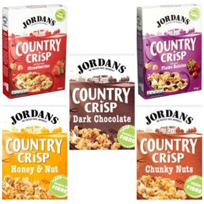 Jordans Country Crisp (All 500g Varieties)