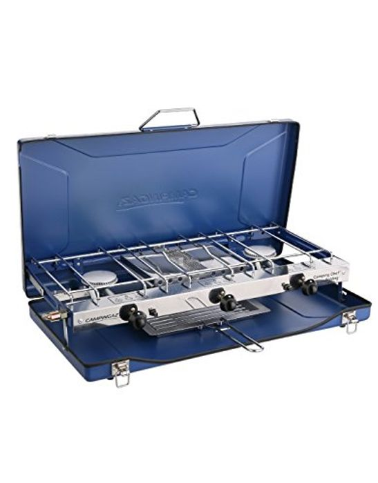 Campingaz Chef Folding Double Burner Stove and Grill