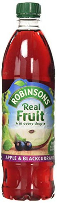 Robinsons Apple and Blackcurrant No Added Sugar, 1L