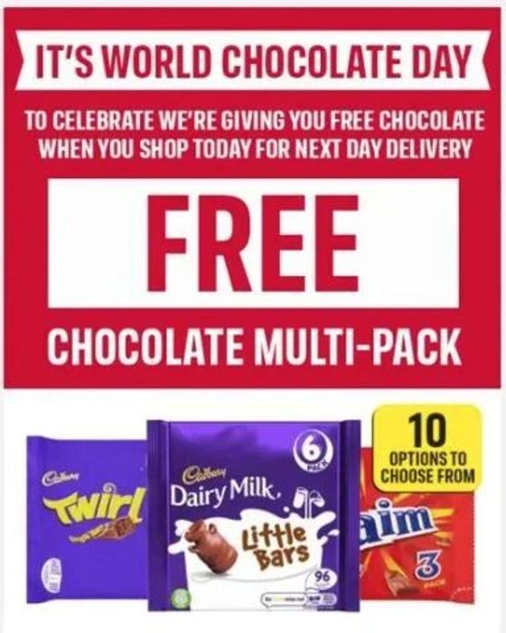 Free Chocolate in Iceland (£1)