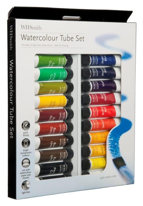 Watercolour Paints 12 Ml (Pack of 24)