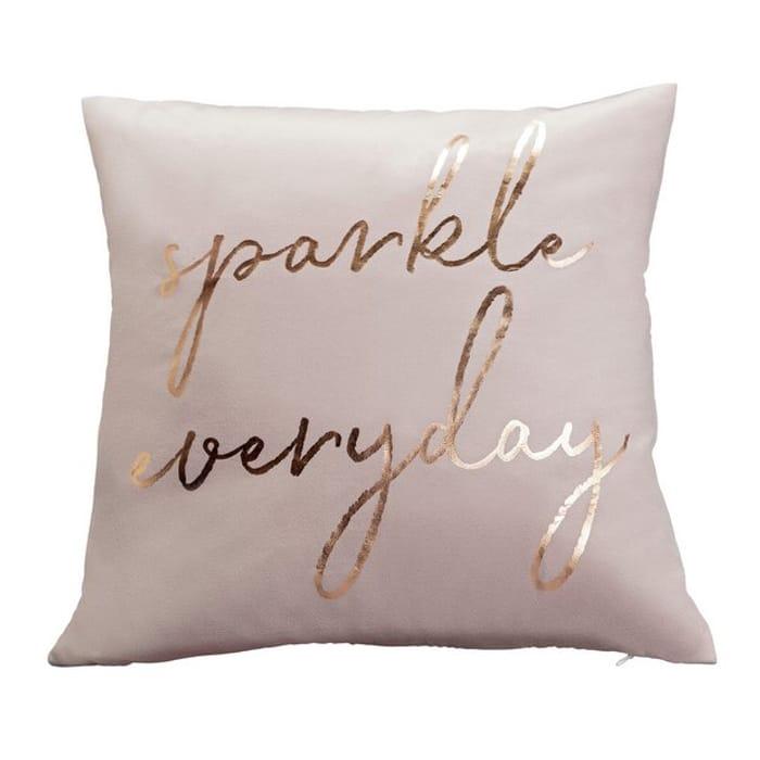 Sparkle Everyday Velvet Cushion