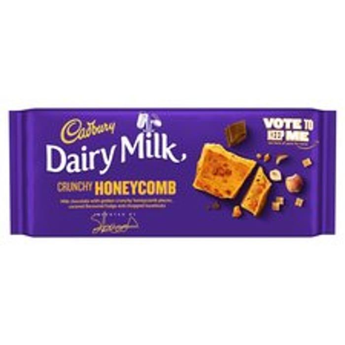 Cadbury Dairy Milk Inventor Honeycomb - Coconutty & Blueberry Varieties too 105g