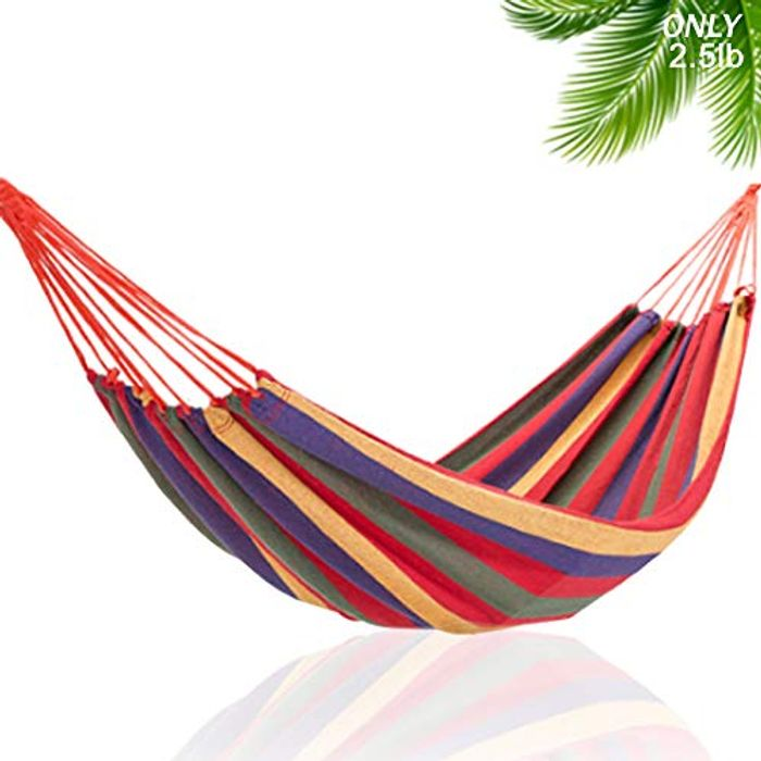 Garden Camping Hammock 260 X 150 Cm, FREE Delivery