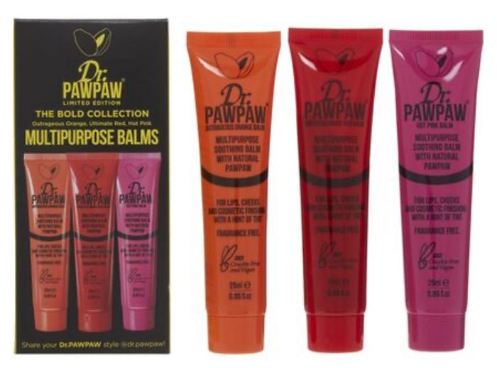 DR. PAW PAW the Bold Collection of Balms