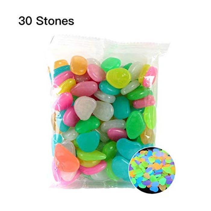Garden Pebbles Glow Stones Rocks