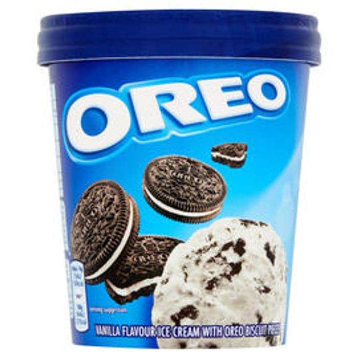 Free £2 Item with Code e.g Oreo Ice Cream 480ml Tub