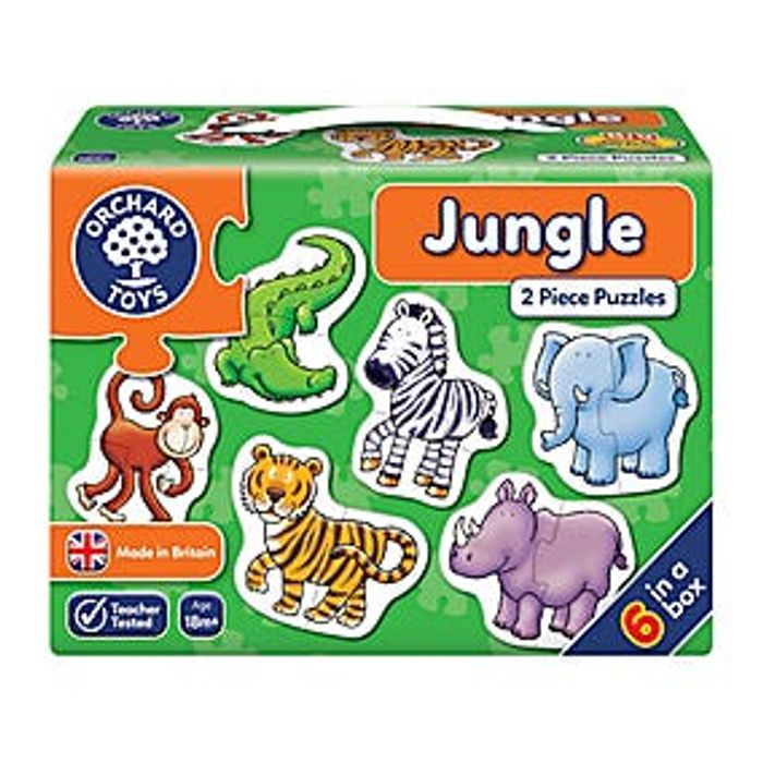 Orchard Toys Jungle Jigsaw Puzzle