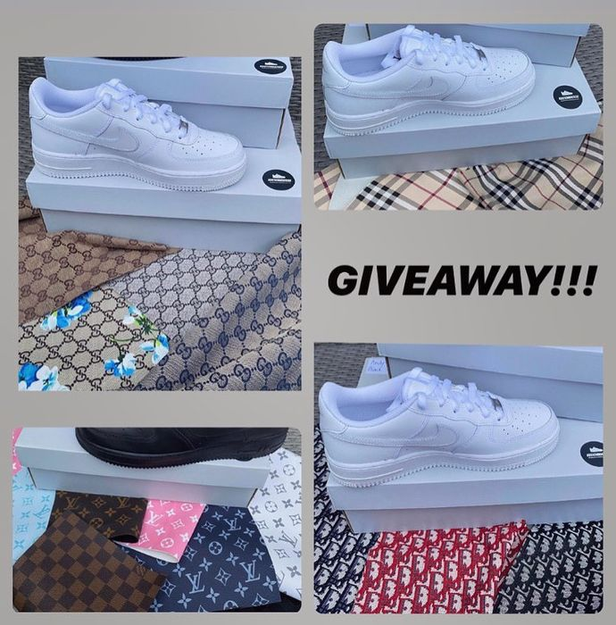 Win a Pair of Custom Air Force Shoes!