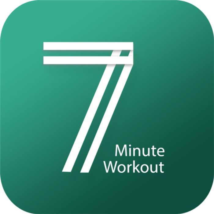 7 Minute Workout - Hipra Fitness App - Usually £2.89