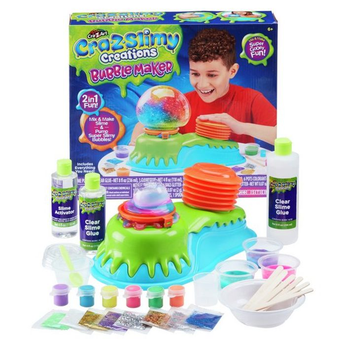 Cra-Z-Slimy Bubble Maker