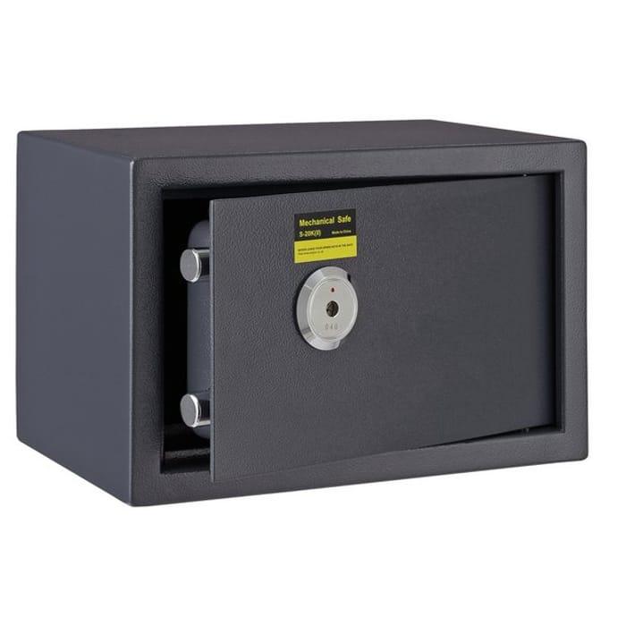 Argos Home A5 31cm Mechanical Steel Safe