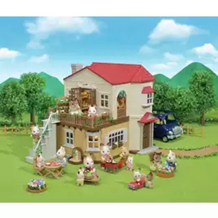Best Price! Sylvanian Families Red Roof Country Home Playset Click & Collect