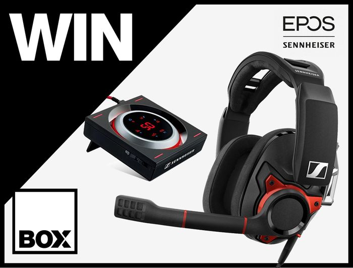 Win a Sennheiser Gaming Headset/GSX 1200 PRO Audio Amplifier worth £400