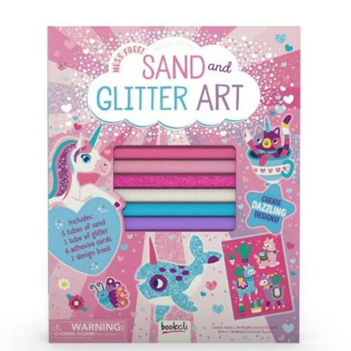 Sand and Glitter Art - Better Than 1/2 Price