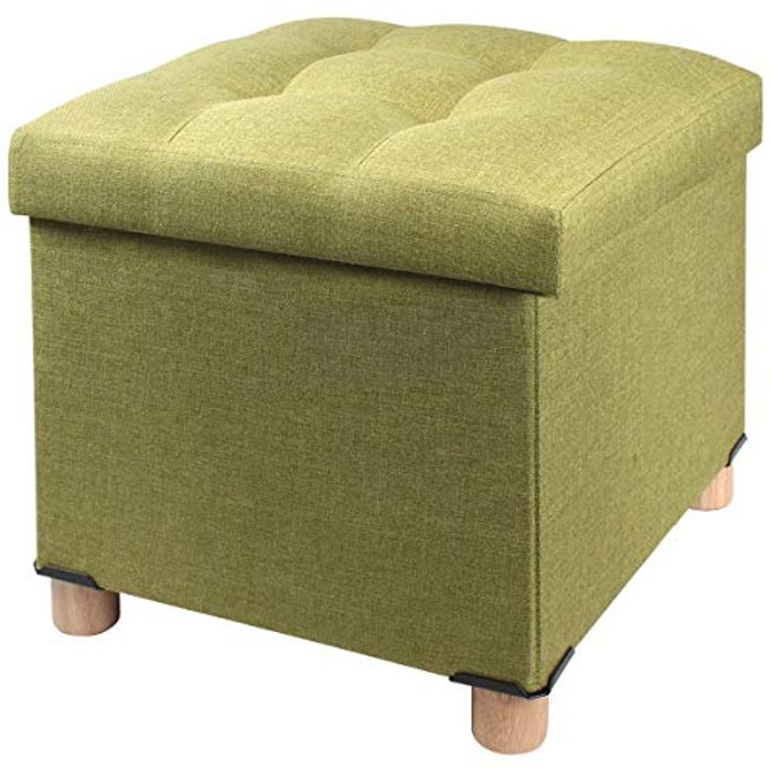 Best Price! Brian & Dany Ottoman with Leg Green