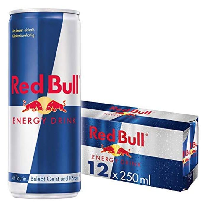 24 Pack - Red Bull Energy Drink 250 Ml