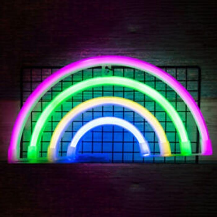 Rainbow Neon Sign LED Night Light