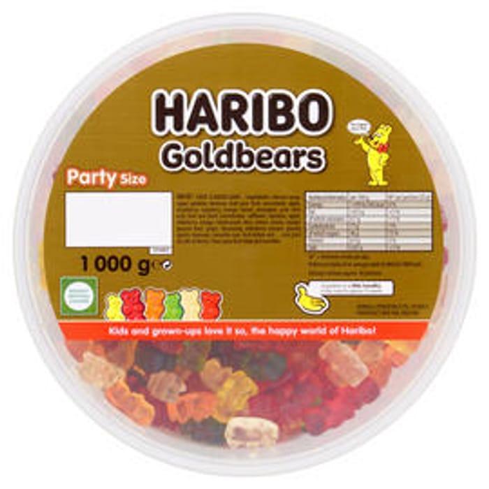 Cheap HARIBO Goldbears 1kg Drum Only £4