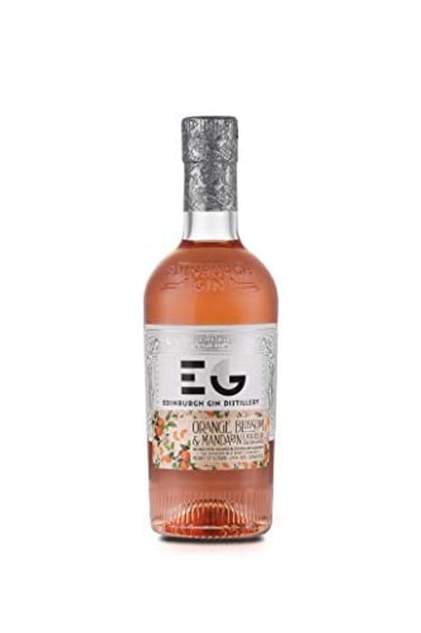 Cheap Edinburgh Gin Orange Blossom and Mandarin Gin Liqueur 50 Cl Only £14.95