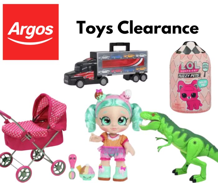 Argos Up To 70% Off MEGA Toy Clearance - Free C&C
