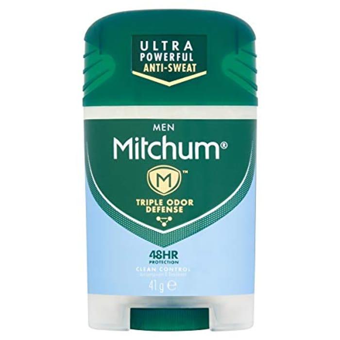 Price Drop! Mitchum Men Triple Odor Defense 48HR Deo 41g