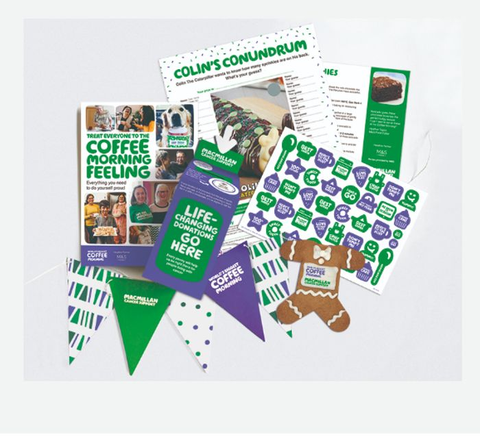 Sign Up For Your Free MACMILLAN 'Worlds Biggest Coffee Morning' Fundraising Kit
