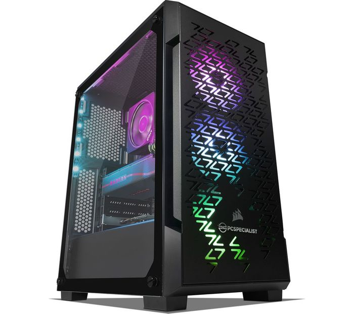 Tornado R7 NV AMD Ryzen 7 RX 5700 XT Gaming PC - 2 TB HDD & 256 GB SSD