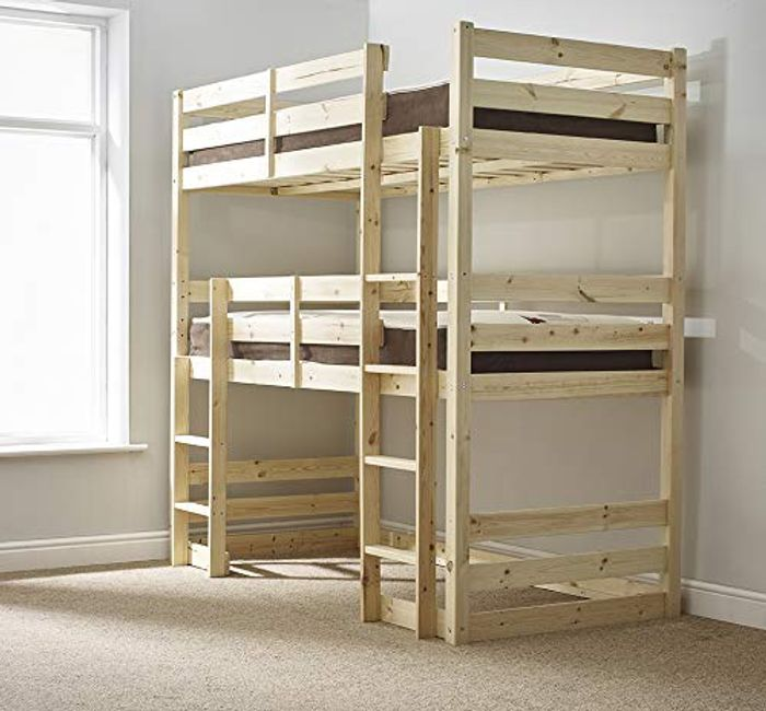 Strictly Beds and Bunks - Raised Twin Sleeper, 3ft Single