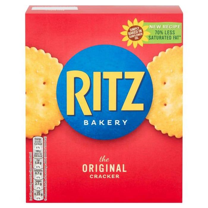 Best Price! Ritz Original Crackers 200g