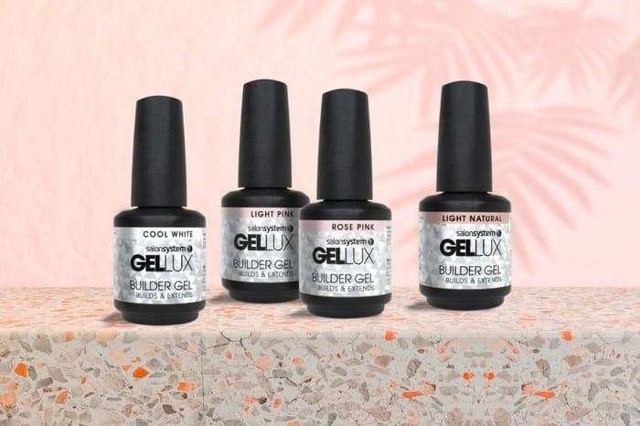 WIN All 4 Builder Gels from Salon System Gellux