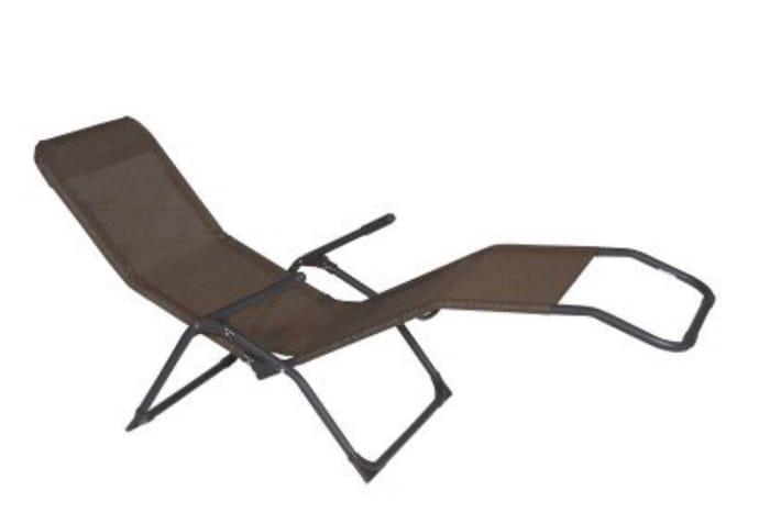Corfu Folding Garden Sun Lounger
