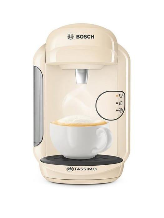 *SAVE £50* Tassimo Vivy Pod Coffee Machine - Cream