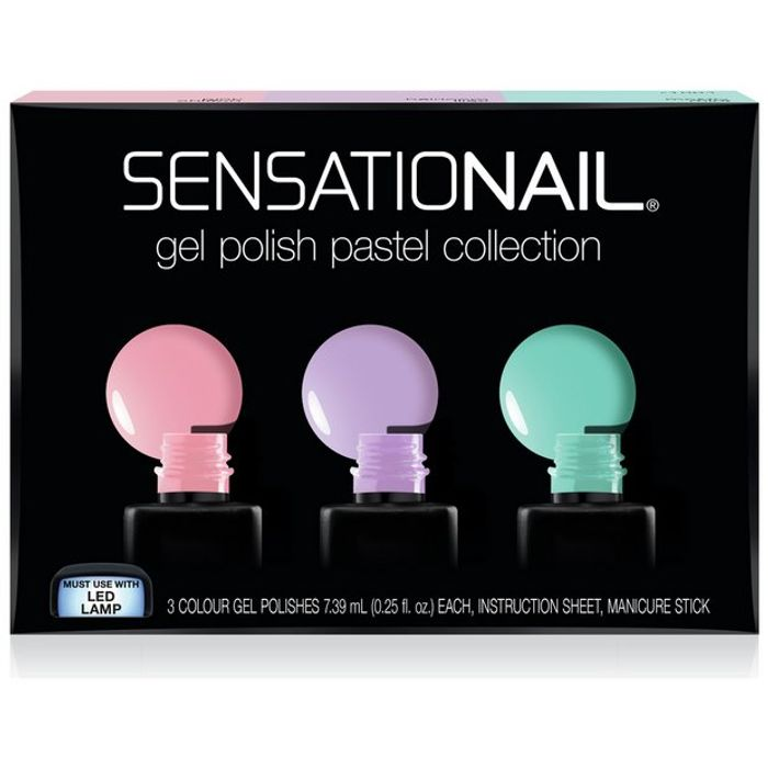 SensatioNail Pastel Gel Colours 25%off at Argos Free Click and Collect