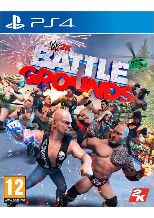 WWE 2K Battlegrounds on PlayStation 4