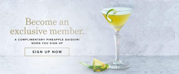 Free Pineapple Daiquiri