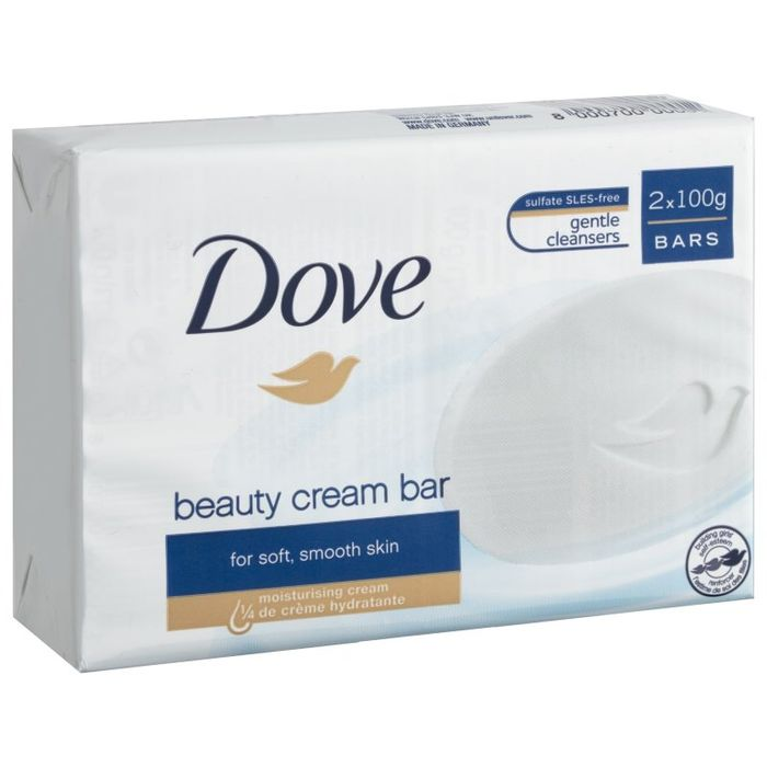 Dove Soap 2X 100g Bar Pack