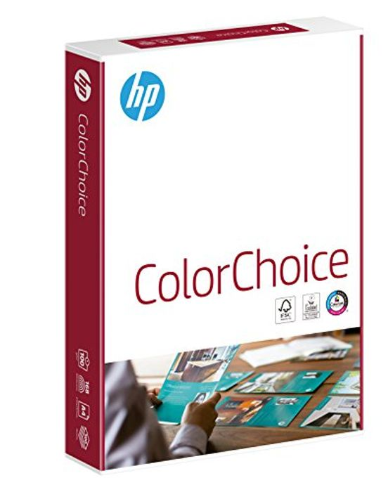 HP Color Choice Laser Paper 500 Sheets, 100gsm + FREE PRIME DELIVERY