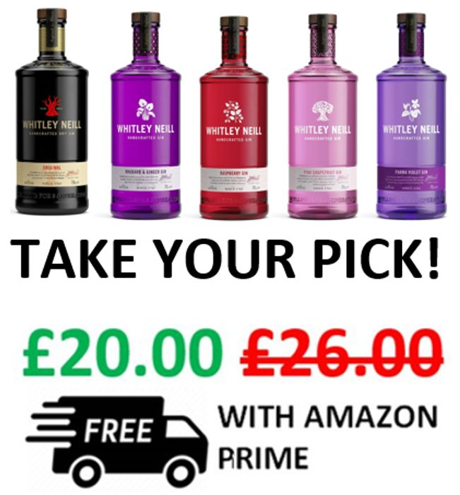 5 Whitley Neill Gins - £20 + Free Delivery