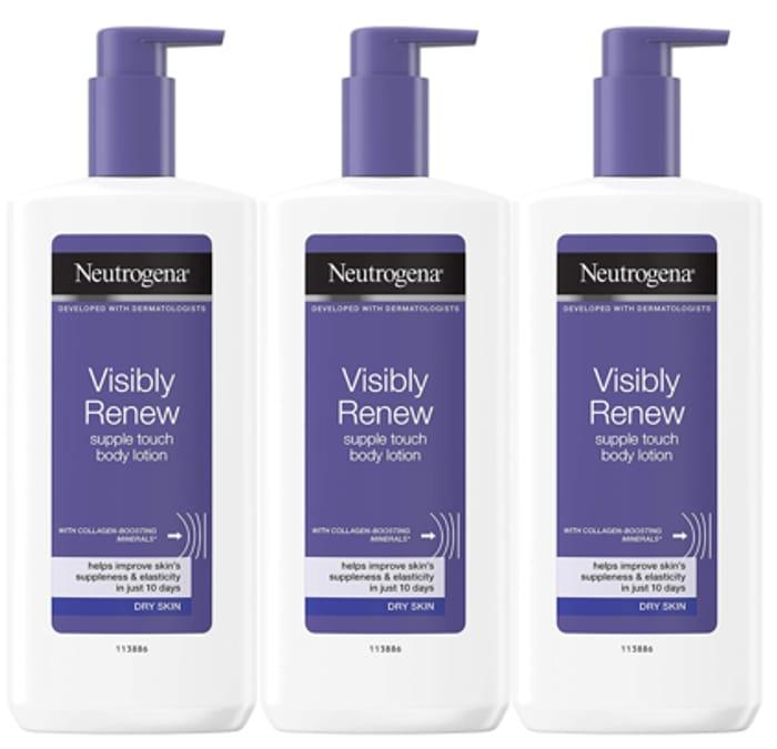 Neutrogena Visibly Renew Body Lotion, 400ml at Amazon