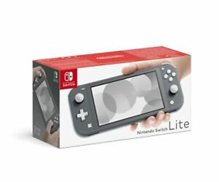 Cheap Nintendo Switch Lite Grey Console Brand New UK PAL Only £214.99