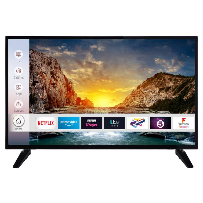 """*SAVE £45* Digihome 40"""" Ultra HD 4K Smart TV £234 with Code"""