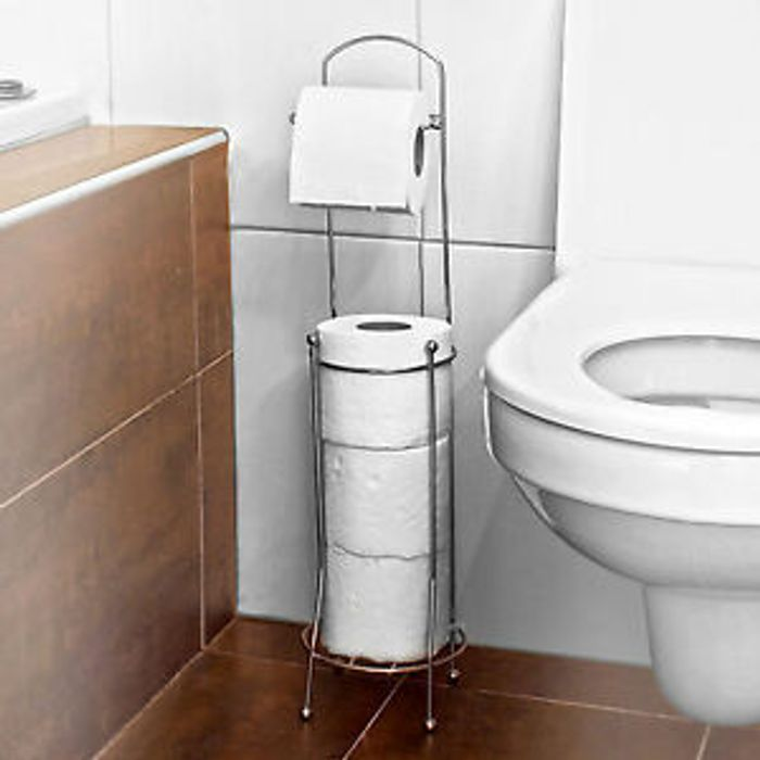 4 ROLL FREE STANDING TOILET PAPER TISSUE Only £6.95