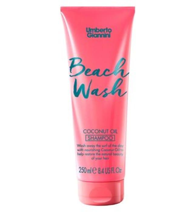 Umberto Giannini Beach Wash Coconut Oil Shampoo 250ml