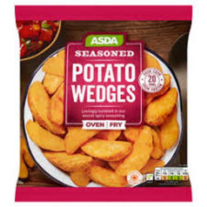 ASDA Seasoned Potato Wedges