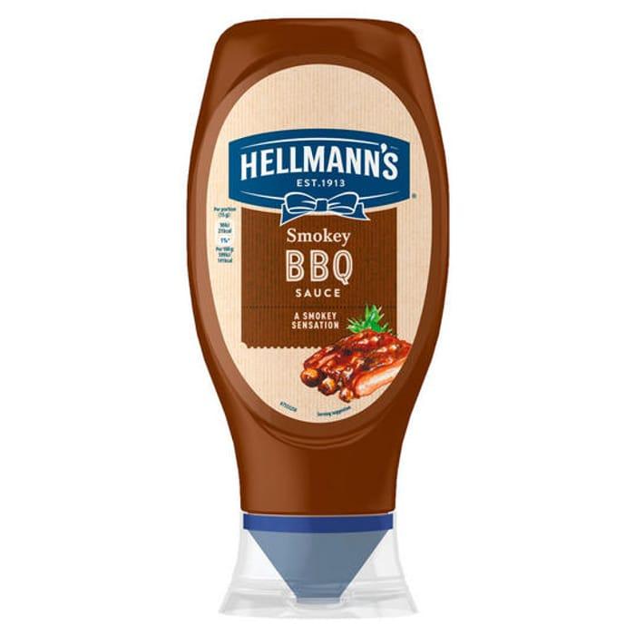 Cheap Hellmann's Smokey BBQ Sauce 490g Only £1!